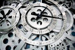 Orologio ed attrezzi Fotografia Stock