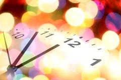 Orologio ed indicatori luminosi. Immagine Stock Libera da Diritti
