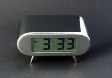 Orologio elettronico di Digitahi Fotografia Stock