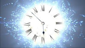 Orologio futuristico Spazio e tempo, distorsione di tempo royalty illustrazione gratis