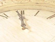 Orologio (il dell'ultimo minuto) Immagine Stock
