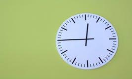 Orologio isolato Fotografie Stock Libere da Diritti