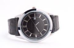 orologio isolato su un bianco Immagine Stock Libera da Diritti