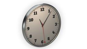Orologio, lasso di tempo, ideale del metraggio per la rappresentazione dei concetti quale l'affare, tempo e lavoro royalty illustrazione gratis