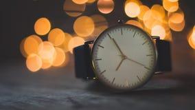 Orologio liscio di Bokeh fotografie stock libere da diritti