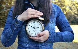 Orologio marcatempo Fotografie Stock Libere da Diritti
