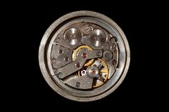 Orologio meccanico Fotografia Stock Libera da Diritti