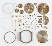 Orologio meccanico smontato Fotografia Stock