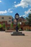 Orologio nella plaza di Kogan in Washington University Campus Fotografia Stock Libera da Diritti