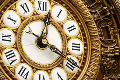 Orologio ornamentale Fotografie Stock