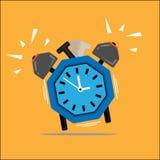 Orologio ottagonale Immagini Stock