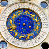 Orologio quadrato Venezia Fotografia Stock Libera da Diritti