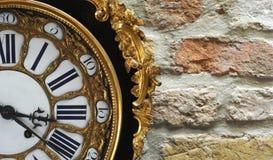 Orologio Rococo fotografia stock libera da diritti