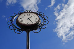 Orologio sotto forma di un fiore Fotografia Stock Libera da Diritti