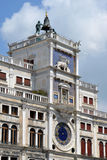 Orologio sul quadrato di San Marco Fotografia Stock