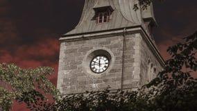 Orologio sulla torre Immagine Stock