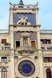 ` Orologio, Venezia, Italia del dell della torre, o di Torre di orologio Immagini Stock Libere da Diritti