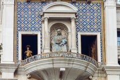 ` Orologio, Venezia, Italia del dell della torre, o di Torre di orologio Fotografie Stock Libere da Diritti