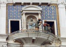 ` Orologio, Venise, Italie de vallon de tour, ou de Torre d'horloge Photographie stock