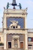 ` Orologio, Venise, Italie de vallon de tour, ou de Torre d'horloge Photographie stock libre de droits