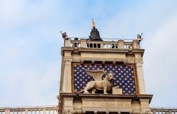` Orologio, Venise, Italie de vallon de tour, ou de Torre d'horloge Image libre de droits
