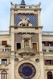 ` Orologio, Venise, Italie de vallon de tour, ou de Torre d'horloge Photo stock