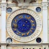 ` Orologio, Venise, Italie de vallon de tour, ou de Torre d'horloge Image stock