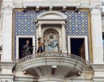 ` Orologio, Venise, Italie de vallon de tour, ou de Torre d'horloge Photos stock