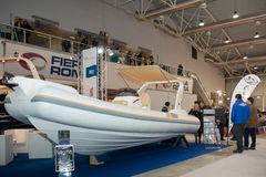 Oromarine Stand At Boat Show Roma Stock Image