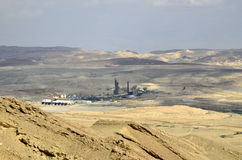 Oron plant in Negev, Israel Royalty Free Stock Photography