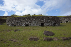 Orongo, νησί Πάσχας, Χιλή Στοκ εικόνες με δικαίωμα ελεύθερης χρήσης