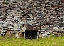 Orongo Village on Easter Island, Chile Stock Image