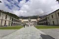 Oropa Sanctuary, known as Sacro monte della beata Vergine Oropa, Royalty Free Stock Image