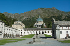 Oropa sanktuarium Włochy - (Biella) - Obrazy Stock
