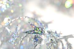 Oropel de la Navidad Foto de archivo libre de regalías