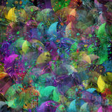 Oropel multicolor Imagen de archivo libre de regalías