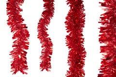Oropel rojo Fotos de archivo libres de regalías