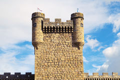 Oropesa Castle Royalty Free Stock Photography