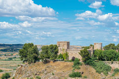 Oropesa castle at Toledo Castilla La Mancha in Spain. Royalty Free Stock Image