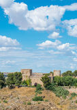Oropesa castle at Toledo Castilla La Mancha in Spain. Royalty Free Stock Photos