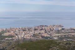 Oropesa Del Mar Castellon, Spagna fotografia stock libera da diritti