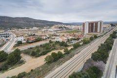 Oropesa del Mar. View of Oropesa del Mar (Castellon, Spain Royalty Free Stock Images