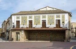 Oropesa, Spain Oropesa de Toledo, rural home, ceramic facade Royalty Free Stock Image