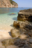 orosei Сардиния di golfo Италии Стоковые Фотографии RF