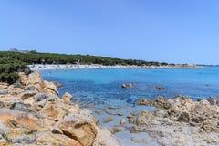 Orosei gulf in sardinia italy Royalty Free Stock Image