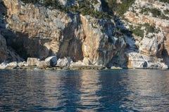 Orosei Gulf shore Royalty Free Stock Photography
