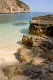 orosei Sardaigne de di golfo Italie Photos libres de droits