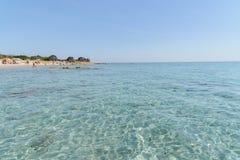 Oroseigolf in Sardinige Italië stock foto