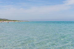 Oroseigolf in Sardinige, Italië Royalty-vrije Stock Foto