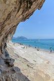 Oroseigolf in Sardinige, Italië stock foto